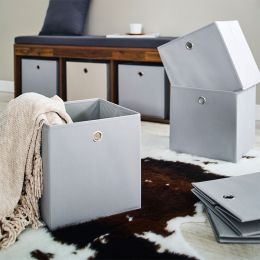 YK-0210011-Grey  Foldable Box