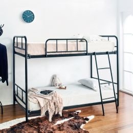Polo-Black-Double  Bunker Bed
