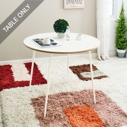 Nabi-White  Cafe Table (Table Only)
