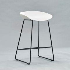 PP-696F-White  Bar Chair