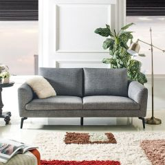 Coronal-Grey  3-Seater Sofa