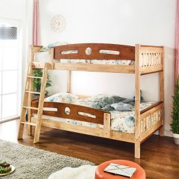 Zack  Wooden Bunker Bed