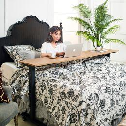 Taylor-Black-Oak-SS Bed Tray Table