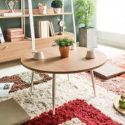 T550-Ivory-Oak-01 Coffee Table