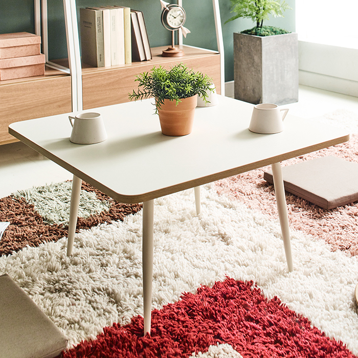 <b>T550-Ivory-Ivory-02</b> Coffee Table
