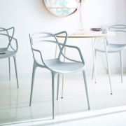 PP-601-Light Grey  Chair