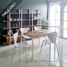 iK-12i-Oak Modern Table  (23t Top)