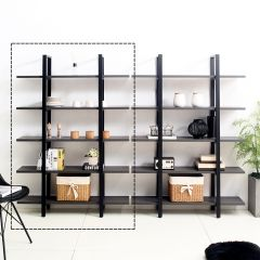 MB-205B-Blk Wall Unit  (23t Top)