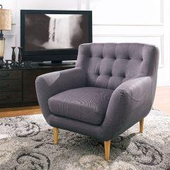 Oswald-C-Grey Single Chair
