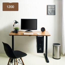 Oxford 1200-Bk-Acacia top Motion Desk