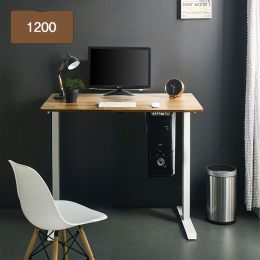 Oxford 1200-Iv-Acacia top Motion Desk