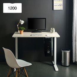 Oxford 1200-Iv-Ivory top Motion Desk