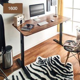 Oxford 1600-Bk-Acacia top Motion Desk