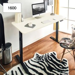 Oxford 1600-Bk-Ivory top Motion Desk